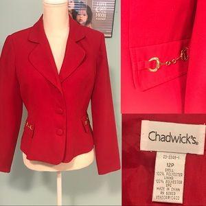 Chadwick's Red Blazer